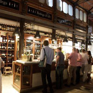 bar à vins mercado de san miguel madrid