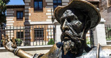 statue de don quijote à madrid