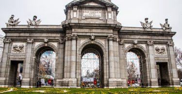 porte de alcala madrid
