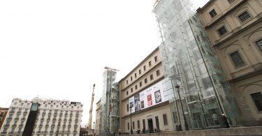 façade du musée reina sofia