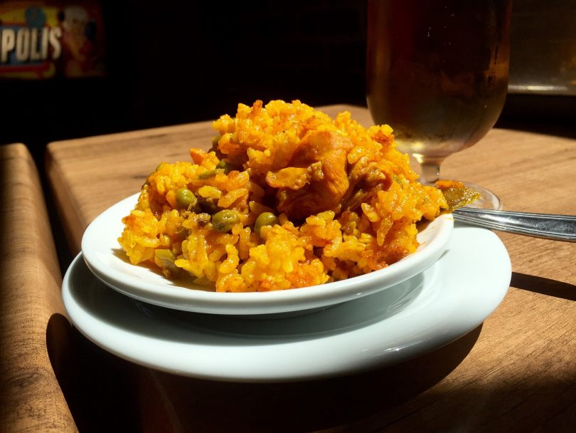 assiette de paella à madrid