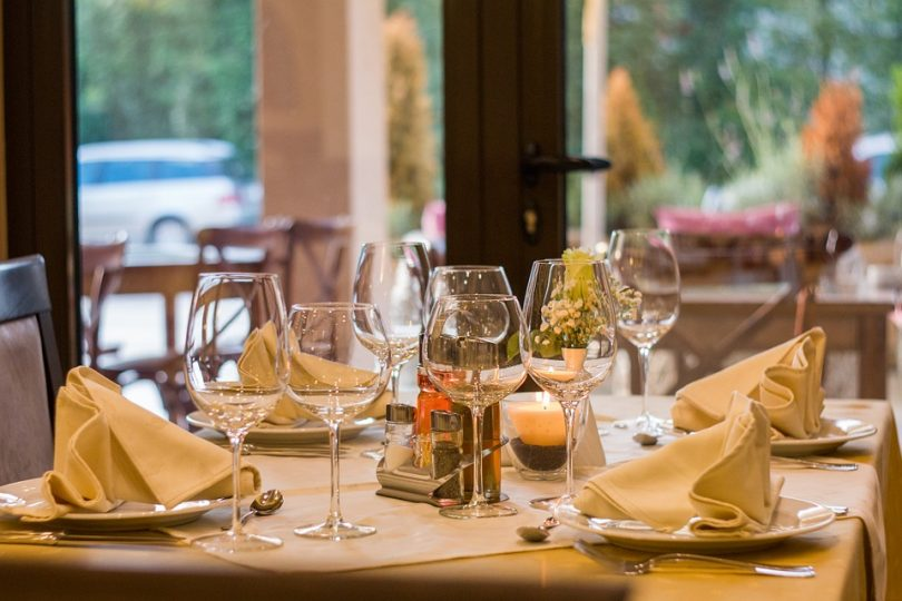 table de restaurant madrid