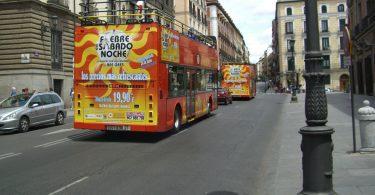 bus touristique madrid