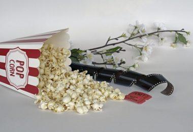 pop corn pellicule de cinéma