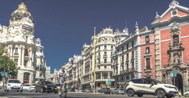 rue gran via de madrid