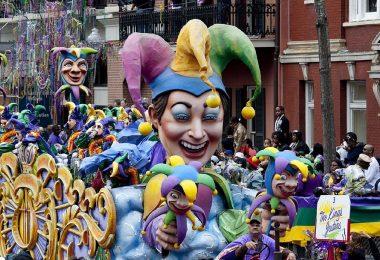 défilé de géants carnaval