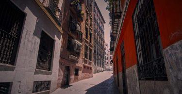 rue du quartier de madrid