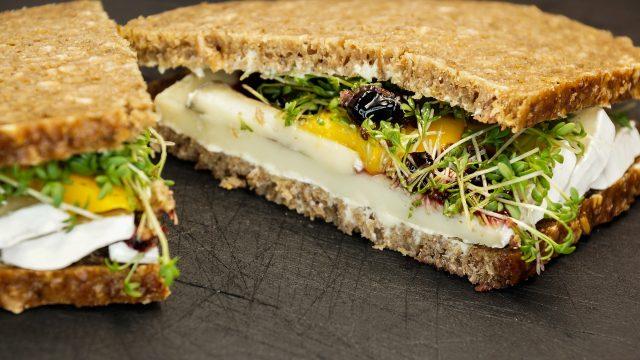 sandwich laitue oeuf