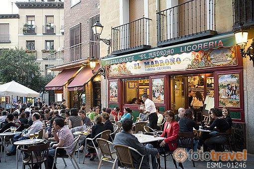 Visiter le quartier le plus traditionnel de madrid la for Barrio ciudad jardin madrid