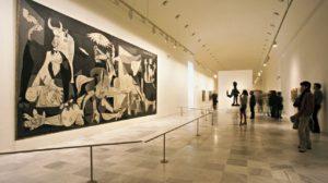 Le musée national | Centre d'art Reina Sofia peinture de picasso