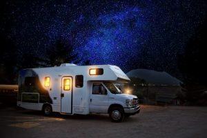 camping car la nuit