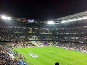 stade de football santiago bernabeu madrid