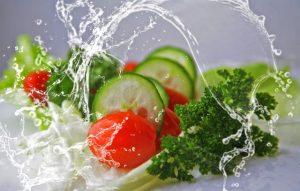 concombre tomate et brocolis