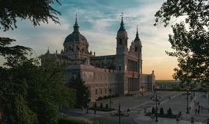 cathedrale de madrid