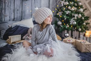 enfant décoration de noel