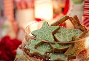 biscuits en forme d'étoiles