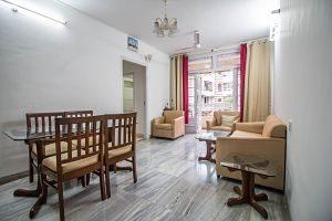 salon d'un appartement en location